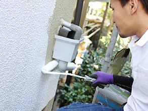 外壁塗装|池本塗装の塗装工事の施工メニュー