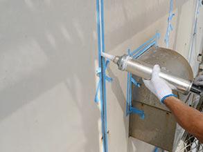 コーキング打ち替え|池本塗装の塗装工事の施工メニュー