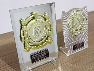 全国建築塗装技能競技大会にて新人賞を授与