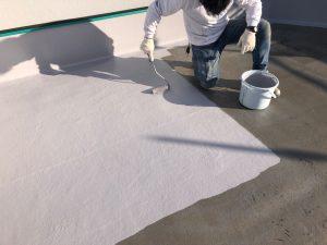 防水塗装 トップコート塗装