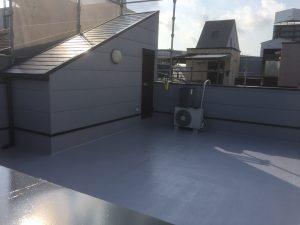 平野区にて屋上防水・外壁塗装工事 完工