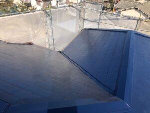屋根塗装は完了